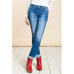 Alexa Slim Blue Denim - Blue River