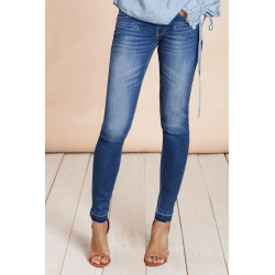 Alicia Skinny Blue Denim - Blue River
