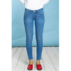Alicia Skinny BFine - Light Blue
