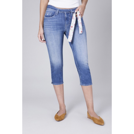 Capri Skinny Light Denim - Light Indigo