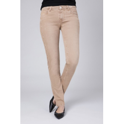 Alexa Slim Color Denim - Sand Storm