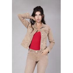 Gipsy Jacket Color Denim - Sand Storm
